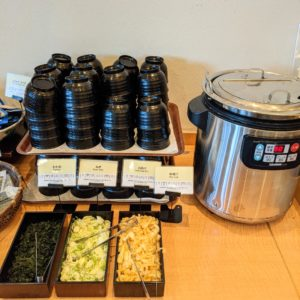 エミオン東京ベイ朝食