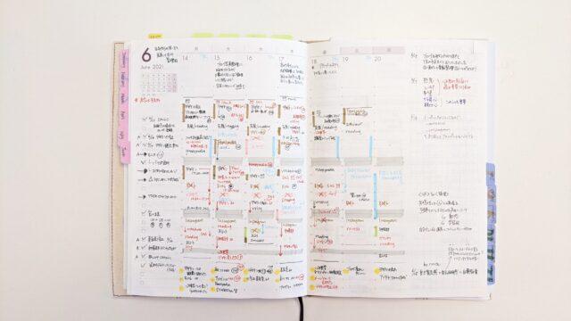 自分軸手帳ウィークリーページ